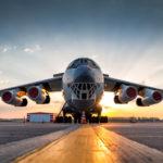 Грузовая авиация в международном аэропорту Астрахани имени Кустодиева